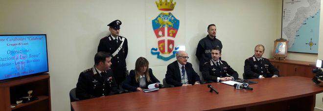 Conferenza stampa tenutasi oggi a Locri