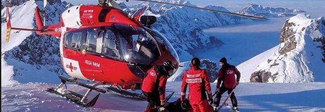 Valanga sulle Alpi Svizzere: quattro dispersi, si scava fra la neve a quota 2.800 Mappa