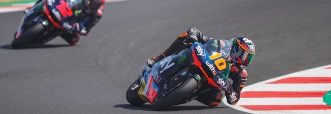 """Luca Marini: """"Vinco il Mondiale di Moto2 e poi sogno la MotoGp con mio fratello Valentino"""""""