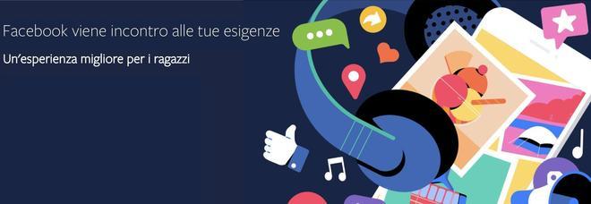Facebook lancia il portale dedicato agli adolescenti
