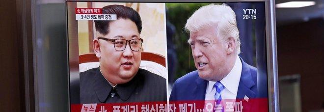 Usa-Nord Corea, tensione alle stelle Trump: «È saltato il vertice con Kim»