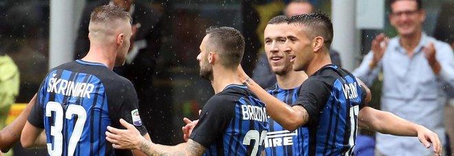 Inter, scambio di complimenti tra Skriniar e Perisic. Spalletti: «Siamo sulla strada giusta»