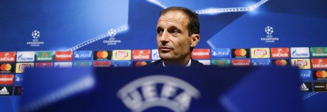 Juventus, Allegri: «Sarebbe straordinario non subire gol dal Barça neppure questa volta»