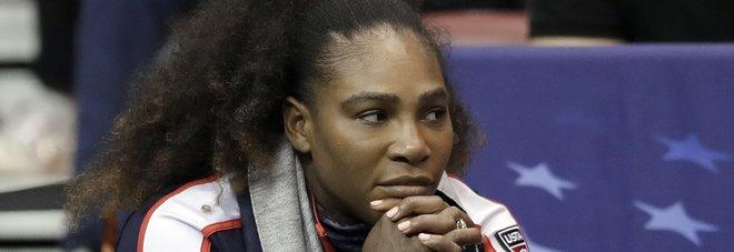Serena Williams rivela: «Sono quasi morta di parto»