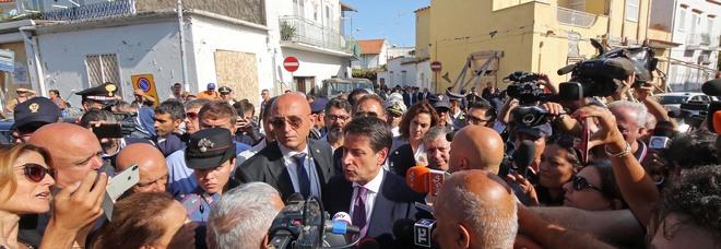 Il premier Conte a Ischia
