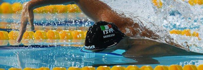 Europei nuoto, Miressi spinge la staffetta mista stile libero in finale