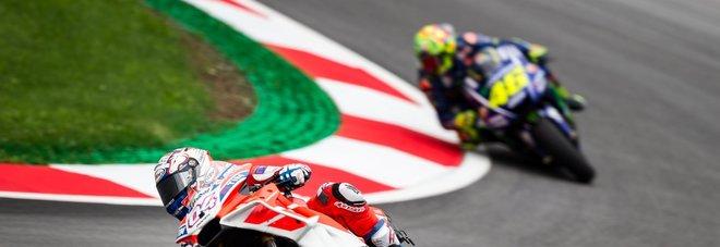 MotoGp, per Dovizioso il miglior tempo in Austria, Vinalese secondo, arranca Valentino