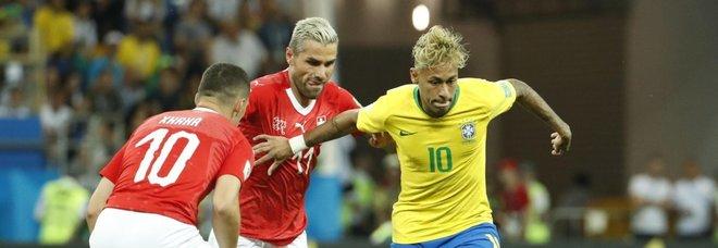 Brasile-Svizzera 1-1, solo un pari per i verdeoro: Coutinho non basta