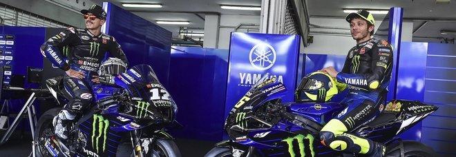 Presentata la Yamaha 2020, l'ultima di Rossi ufficiale