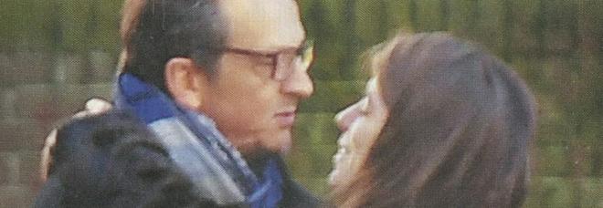 Gabriele Muccino e Giulia Innocenzi insieme a Roma (Diva e donna)