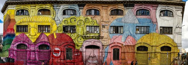Maupal: «La rinascita con la street art, i miei 5 itinerari per Roma»