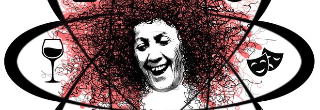 Rina Durante nell'illustrazione di Giulia Tornesello