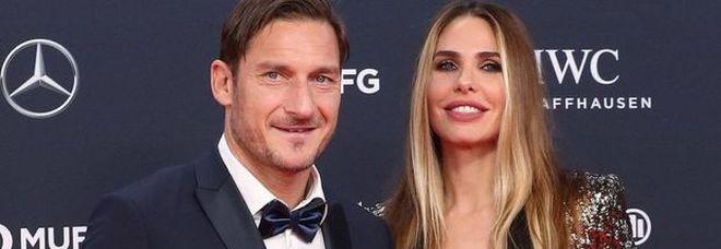 Totti: Ilary è tutto per me, è tempo per un quarto figlio