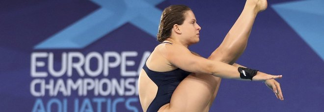 Tuffi, Europei: l'azzurra Batki vince l'argento nella piattaforma da 10 metri