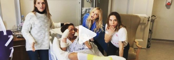 Mel B operata d'urgenza, Spice Girls riunite in ospedale: ecco cosa è succeso