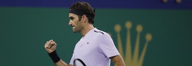 ATP Shanghai Masters 2017: Federer batte Nadal 6-4, 6-3