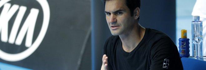 Australian Open, Federer: «Io favorito? Ho trentasei anni...»