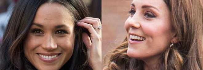 Meghan Markle, è gelo con Kate Middleton. «Vuole tornare negli Usa con Harry e Archie»