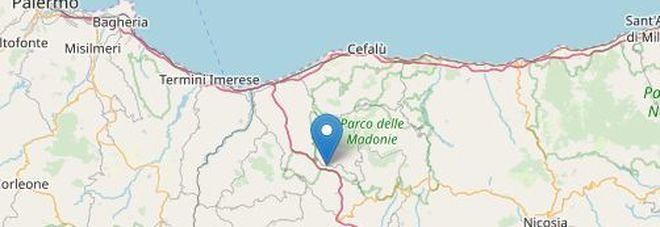 Terremoto vicino Palermo: trema la terra delle Madonie