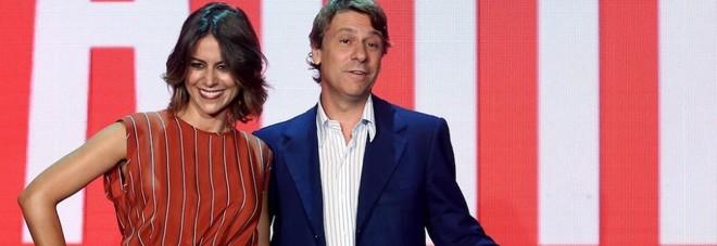 Nicola Porro con Greta Mauro