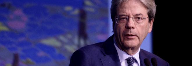 Il prresidente del Consiglio Paolo Gentiloni