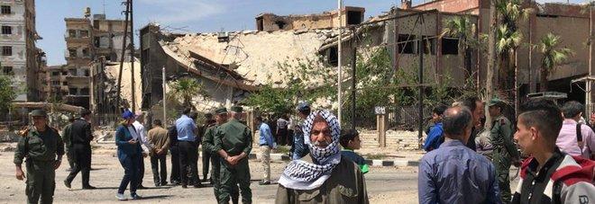 Siria, ispettori Onu bloccati a Duma
