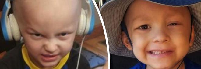 Malato di cancro a 5 anni scrive le sue ultime volontà: «Ai miei funerali voglio ghiaccioli e Batman». Domani l'addio