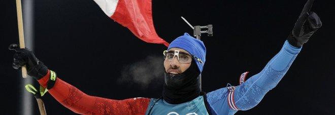 Biathlon a inseguimento, medaglia d'oro a Fourcade, Windisch sedicesimo. «E' stata dura»