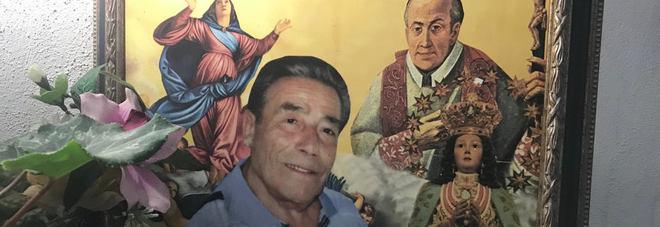 Il miracolato Raimondo Formisano, l'altare alla sua memoria