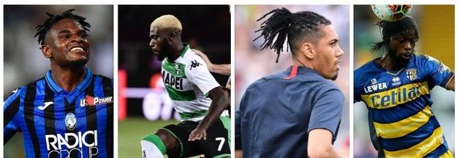 Le capigliature più strane della Serie A: da Gervinho a Zapata. E c'è qualche volto nuovo