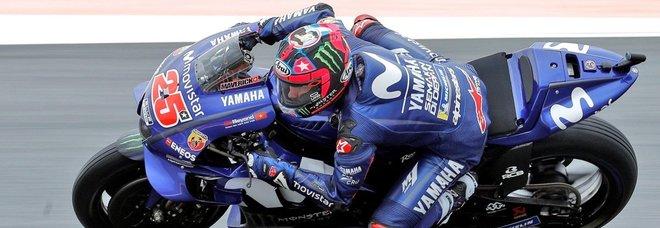 Valencia, pole di Vinales, poi Rins e Dovizioso: Rossi è soltanto 16°