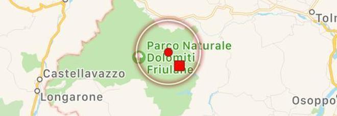 Terremoto in provincia di Udine, scossa di magnitudo 3.7 a Forni di Sotto