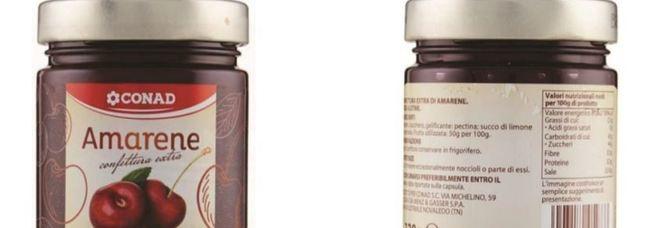 Marmellata con allergene: questi i lotti richiamati dal mercato