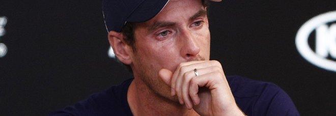 Andy Murray in lacrime annuncia il ritiro: «Troppo dolore all'anca»