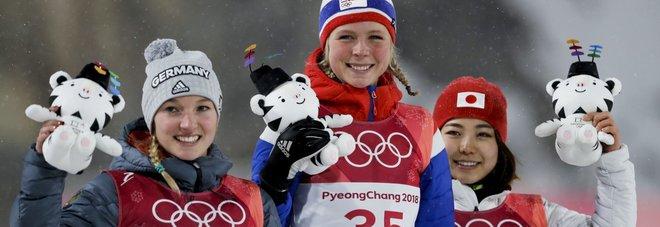 Pyeongchang, arriva la prima medaglia olimpica per la Takanashi