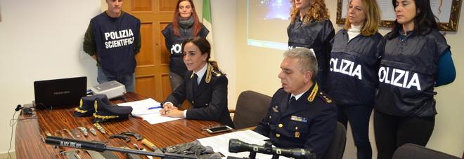 Casa piena di fucili e coltelli: torna in carcere Jurgen Mazzoni