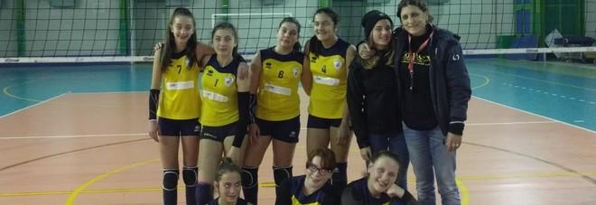 L'Under 13 del Volley Cittaducale