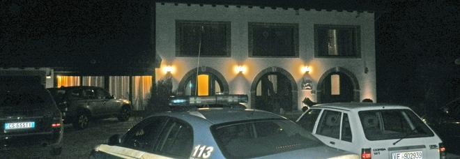 La villa dell'industriale rapinato il 16 febbraio 2012 a Blessaglia