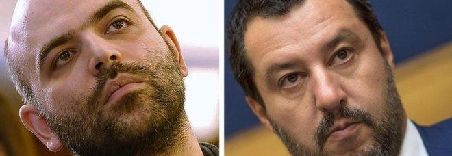 Migranti, Saviano attacca Salvini: «Ministro della Mala Vita». Il vicepremier: querelo