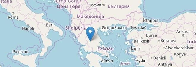 Terremoto in Grecia, forte scossa in mattinata
