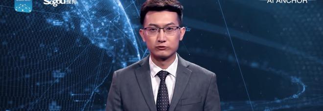 Questo giornalista non è (realmente) umano e dà le notizie al Tg per 24 ore al giorno VIDEO