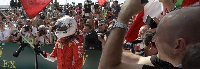 Gp d'Inghilterra, Vettel: «Bella battaglia, hospinto come un pazzo, sorpreso da Bottas»