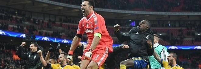La gioia juventina a Wembley