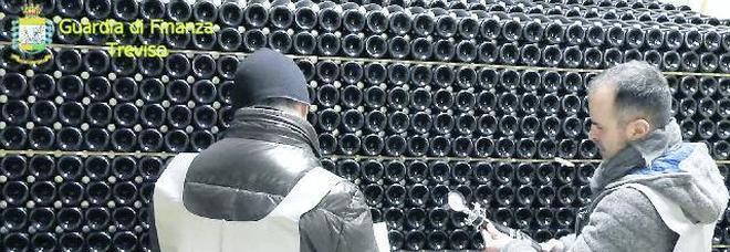 Sequestrati 200mila litri di spumante