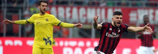 Milan, successo da Champions: André Silva rimonta il Chievo