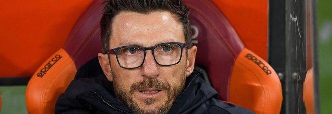 Roma, Di Francesco: «Dopo la sconfitta con il Napoli c'è stata la svolta. Non accontentiamoci»