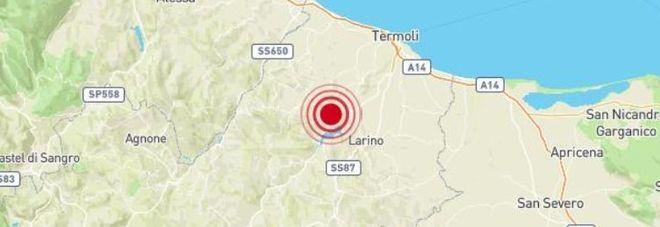 Terremoto, forte scossa avvertita al Centro-Sud, dal Molise all'Abruzzo