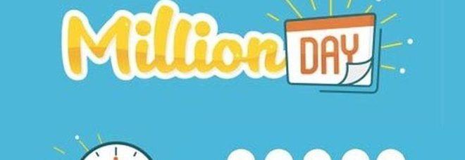 Million Day, diretta estrazione di mercoledì 20 marzo 2019: i numeri vincenti