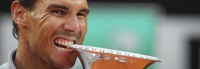 Internazionali, è Nadal il re del Foro Italico: Zverev battuto in tre set