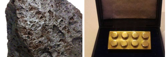 Le 10 cose più assurde vendute all'asta nel 2017 E c'è anche un meteorite